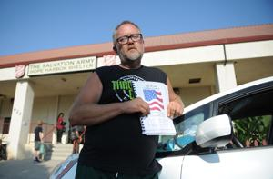 Homeless Lodian prepared to fight for seat at the council table
