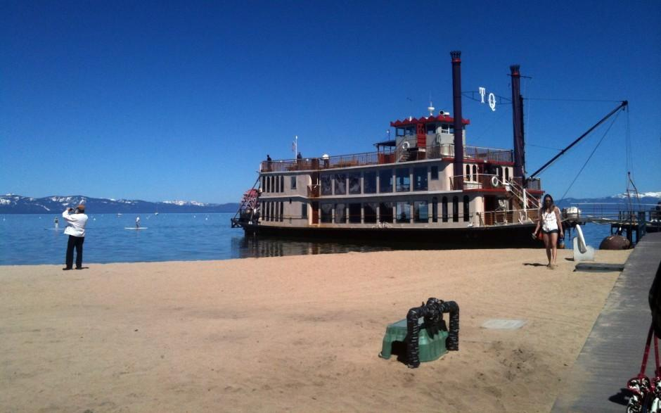 Take a cruise on the Tahoe Queen