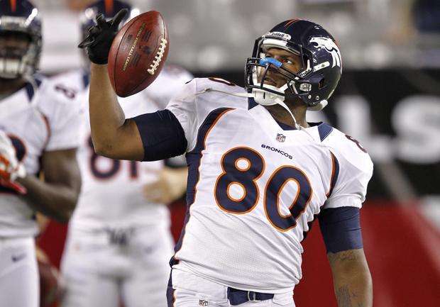 Finally healthy, Julius Thomas makes a big impression with Broncos