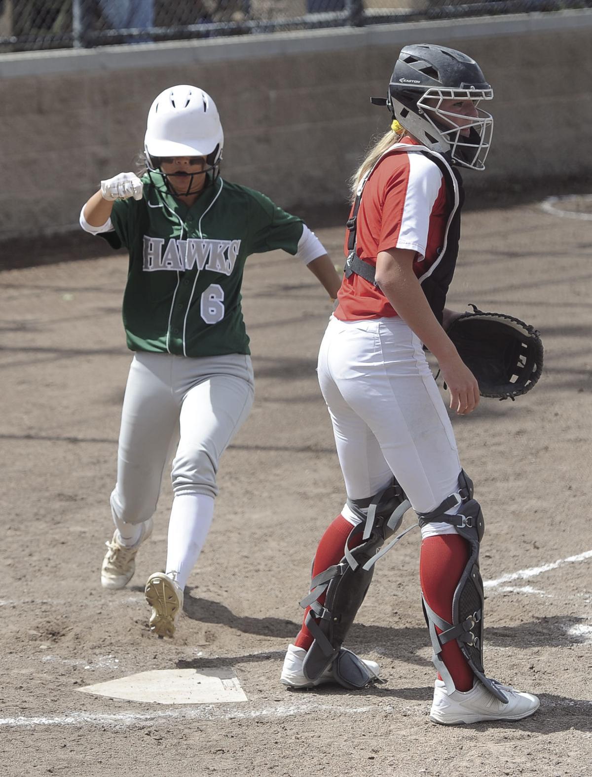 SJS D-IV softball playoffs: Hawks' bats go silent in loss