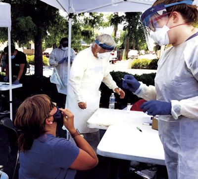 Testing their limits: As pandemic spreads, Lodi testing sites see numbers soar