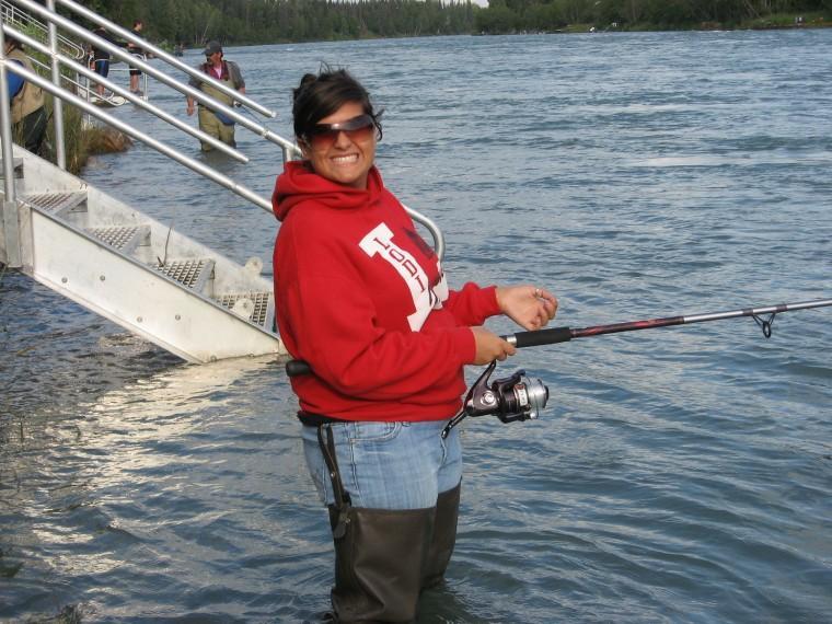 Fishing on the Kenai River Alaska