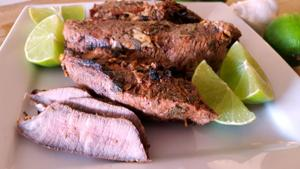 Prepare a smoky, flavorful Mexican restaurant classic: Carne Asada