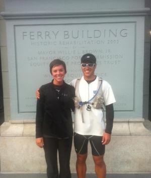 Ethan Bennett completes cross country run