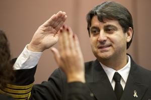 New Lodi Fire Chief Larry Rooney sworn in