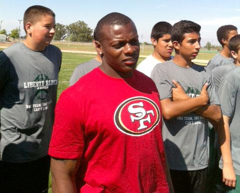 'Train With a Pro' comes to Liberty Ranch High School