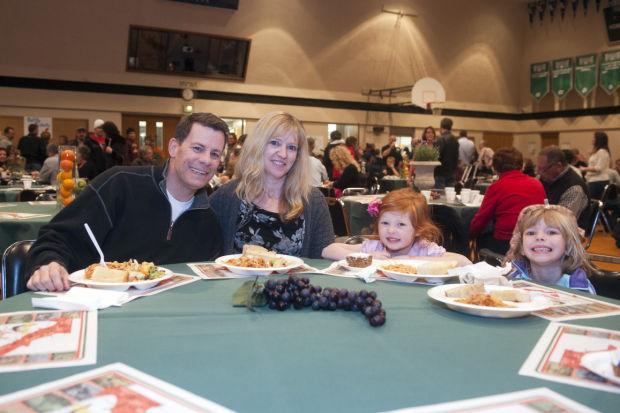 Lodi Christian School's spaghetti dinner