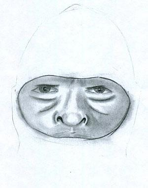 Sketch of suspect is released by Lodi police