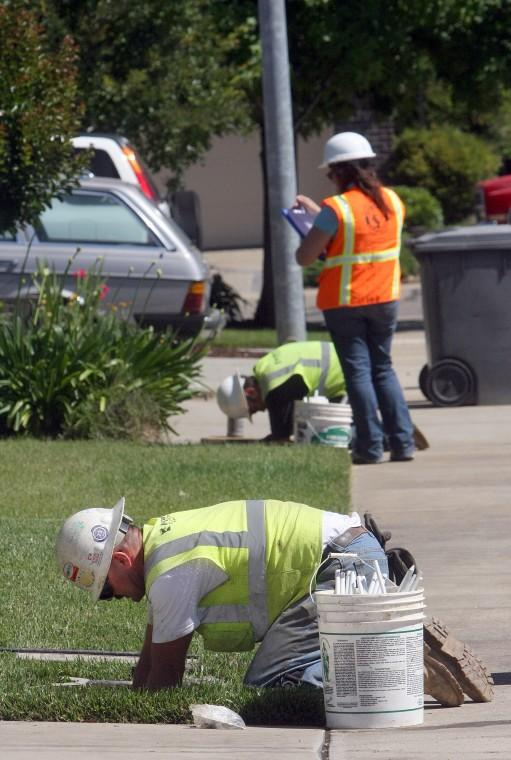 Water meter installations begin in Lodi