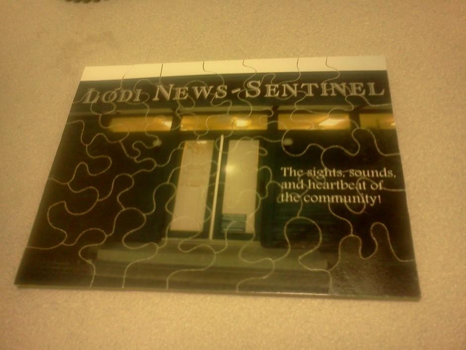 Lodi News-Sentinel in puzzle form