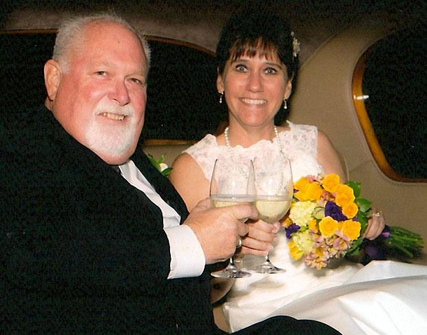 Jeffrey Wallior and Patricia Grauman were married in November