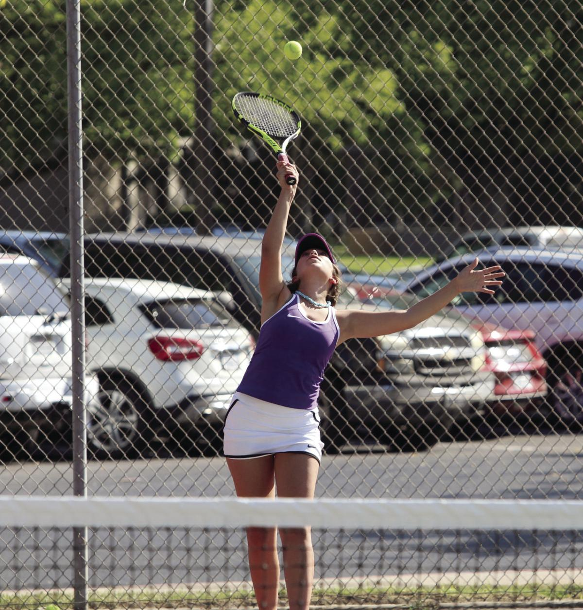 Girls tennis: Tokay squad serves up win in home opener