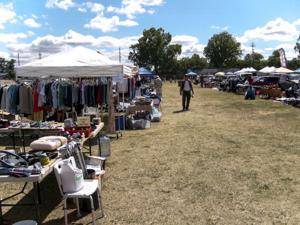 Stockton couple opens Friday Flea Market at Lodi Grape Festival Grounds