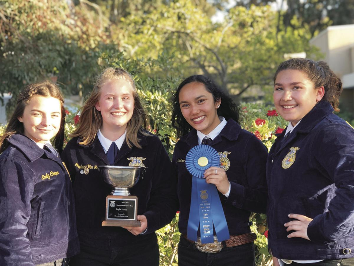 Lodi High students win state title for light horse judging