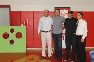 Former Galt Warriors Zach Phillips and Ryan Mattheus have numbers retired