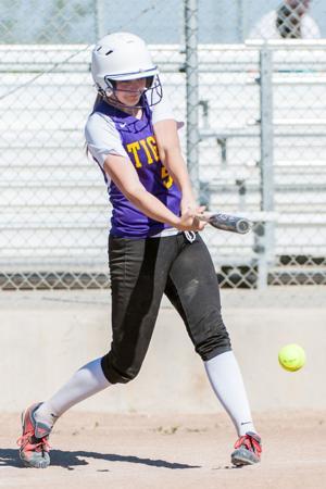 Softball: Tigers put on a hitting clinic