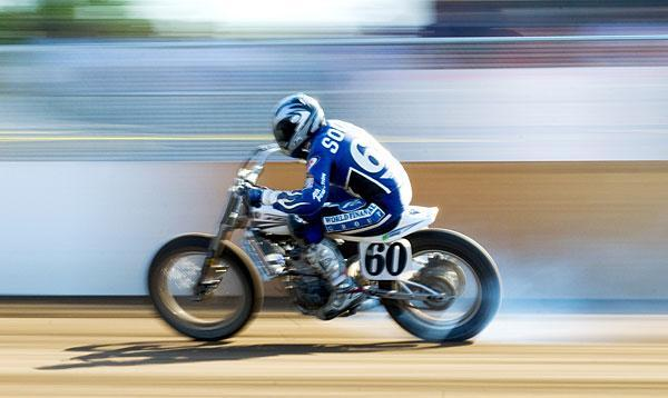 Fans flock to see motorcycle races at fairgrounds