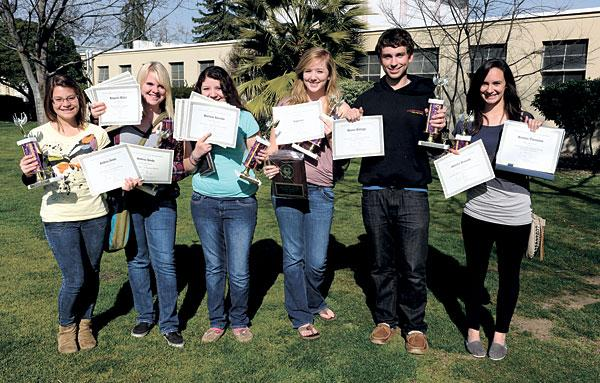 Tokay High School journalism class wins at state competition