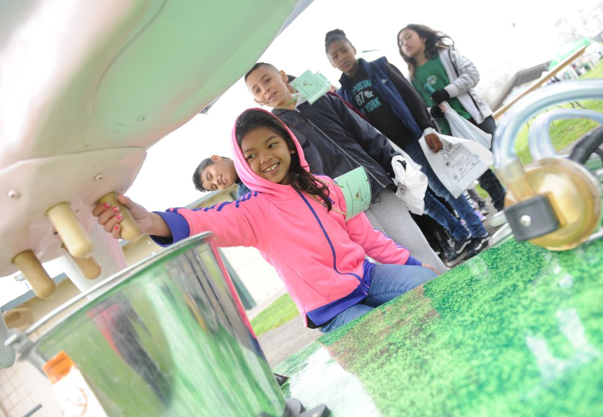 Going on an AgVenture: S.J. students visit Lodi event to learn about farming