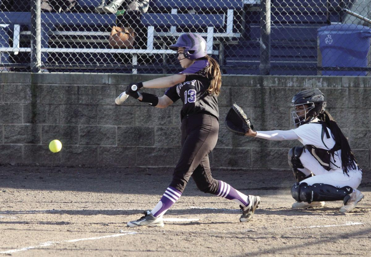High school softball: Tigers blanked in TCAL opener