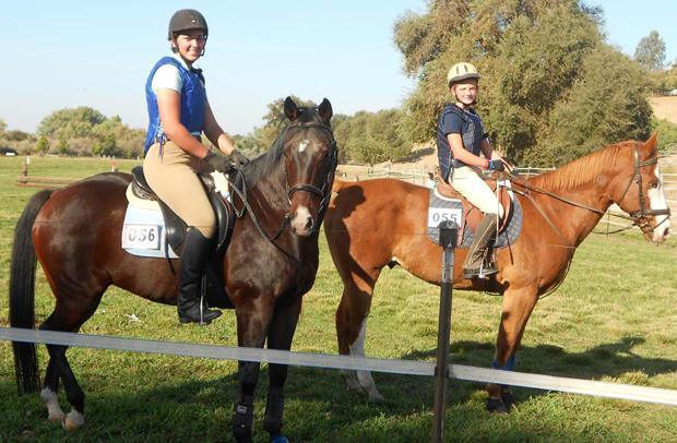 Pony club members compete at Lone Tree Farm