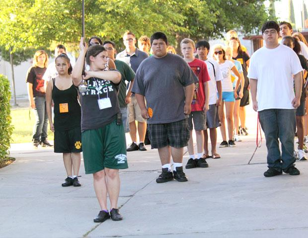 Galt, Liberty Ranch high schools off to a melodious start with joint marching band