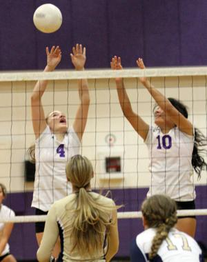 Volleyball: Wolf Pack spikes Tigers