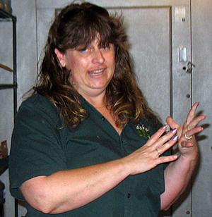 Cheryl Phelps may be losing a job at Micke Grove Zoo, but she still loves her critters and the zoo