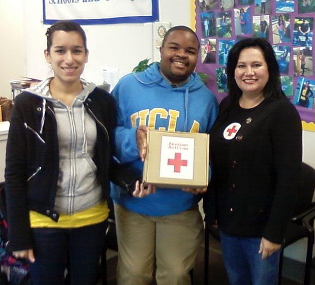 Ben Holt Academy students raise money for Superstorm Sandy victims