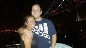 Patrick Weathers and Kerry Ortega were engaged in June