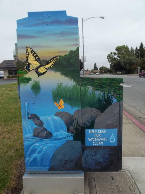 City of Lodi seeks artists to paint murals on five traffic signal control boxes