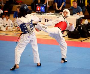 Healthy Dominic Hilaman back with eye on national taekwondo team
