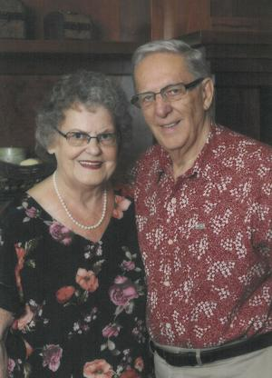 Richard and Jean Ripplinger celebrate 60 years of marriage with family
