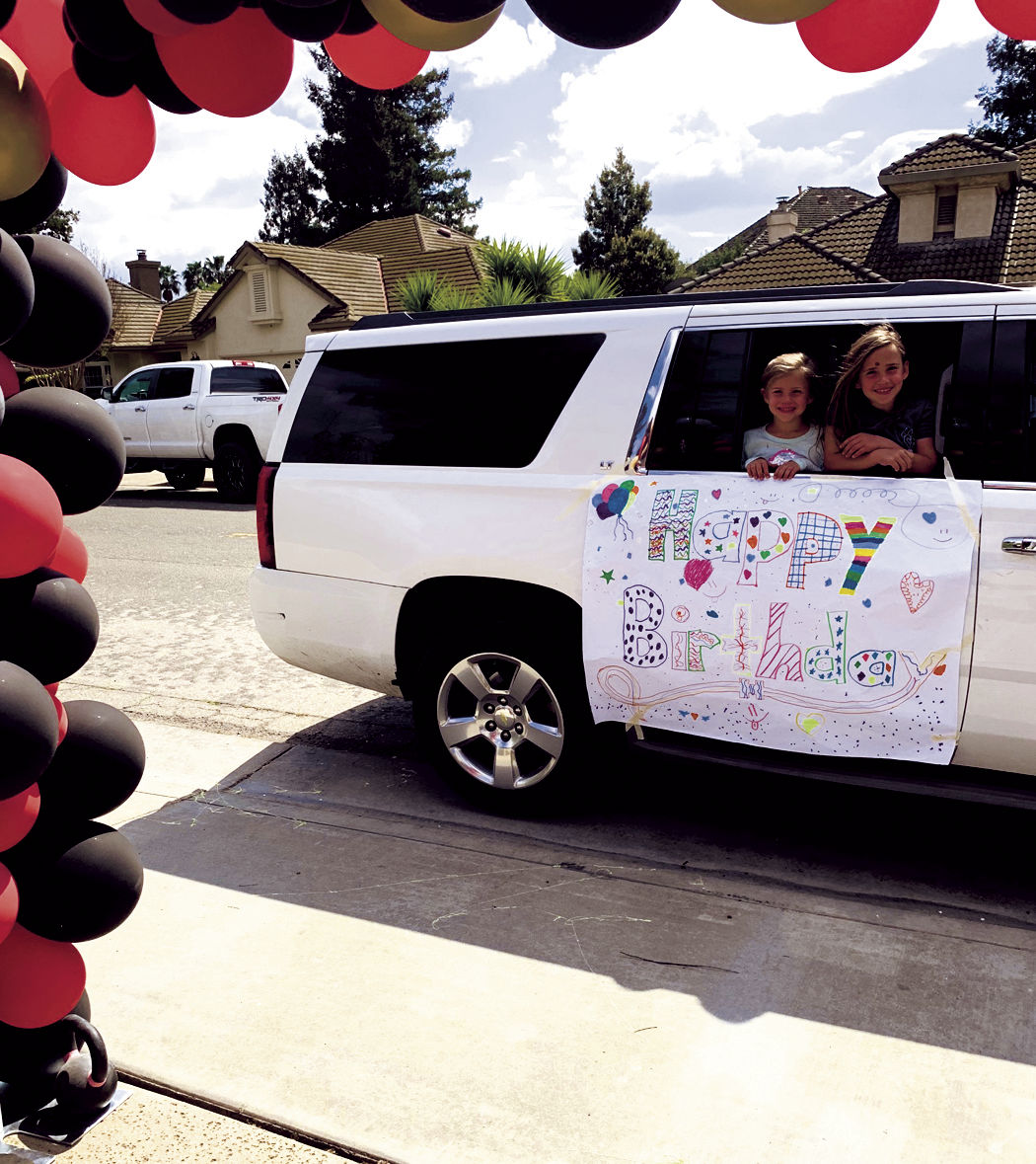 Driven to please: Lodi mom throws drive-up party