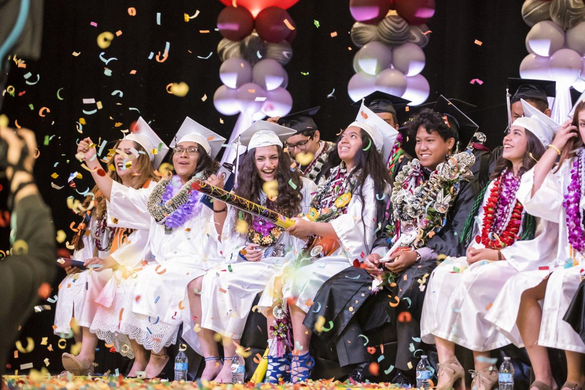 Lodi Academy Graduation on May 26, 2019.