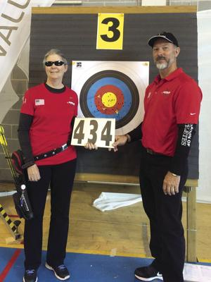 Archery: Lodi's Walth sets new record for blind archers