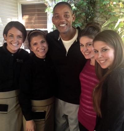 Actor Will Smith visits Lodi