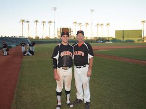 Bonding through baseball: Local father and son's field of dreams one to remember