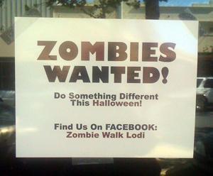 Zombie Walk Lodi