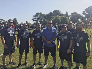 Lodi SWAT Team enters charity fitness challenge in San Leandro