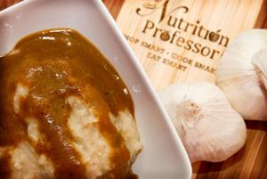 Tasty mashed potatoes and gravy that will improve health