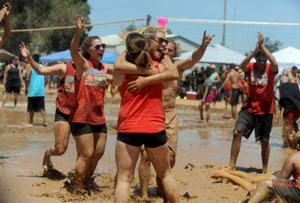 Mud volleyball tradition stuck in Herald for 30 years
