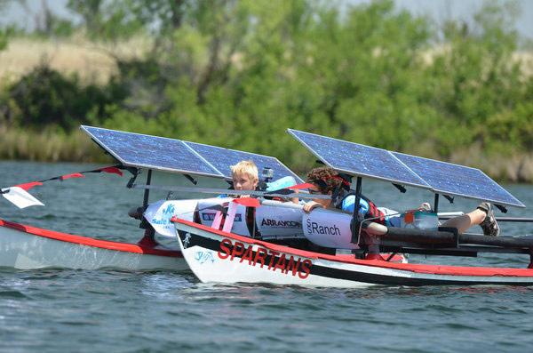 Watch boats race at the second annual Solar Regatta