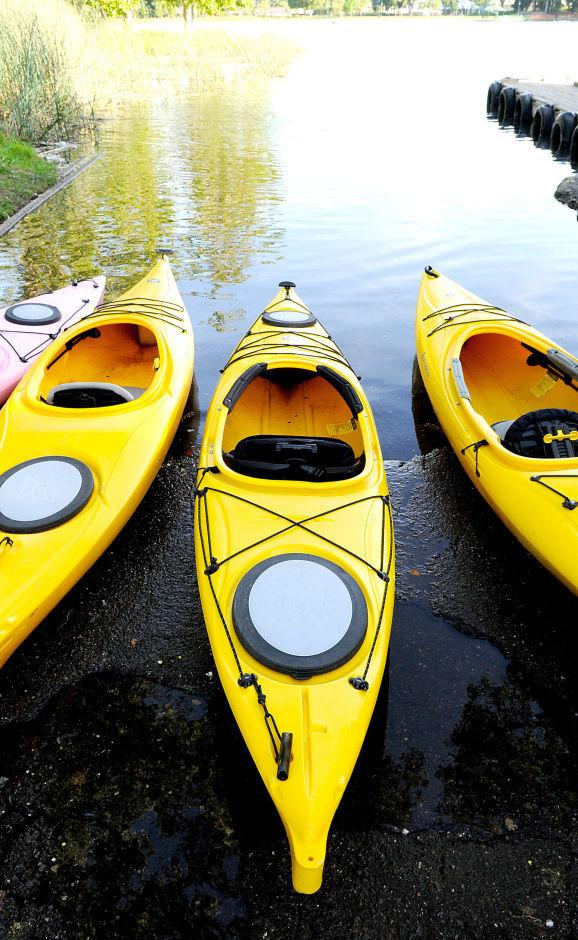 On the water: Sun-splashed recreation