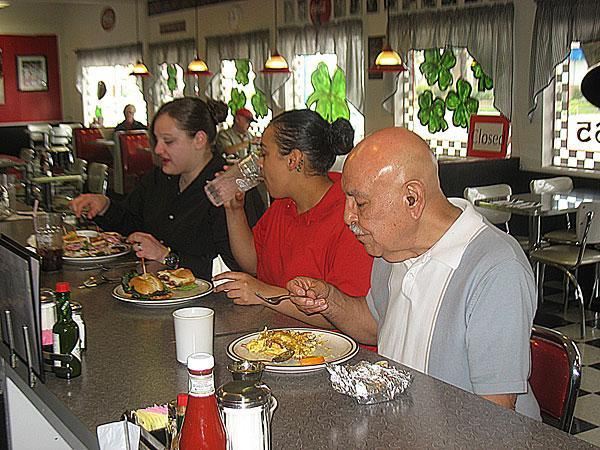 Restaurants educate and reward employees through hot meals