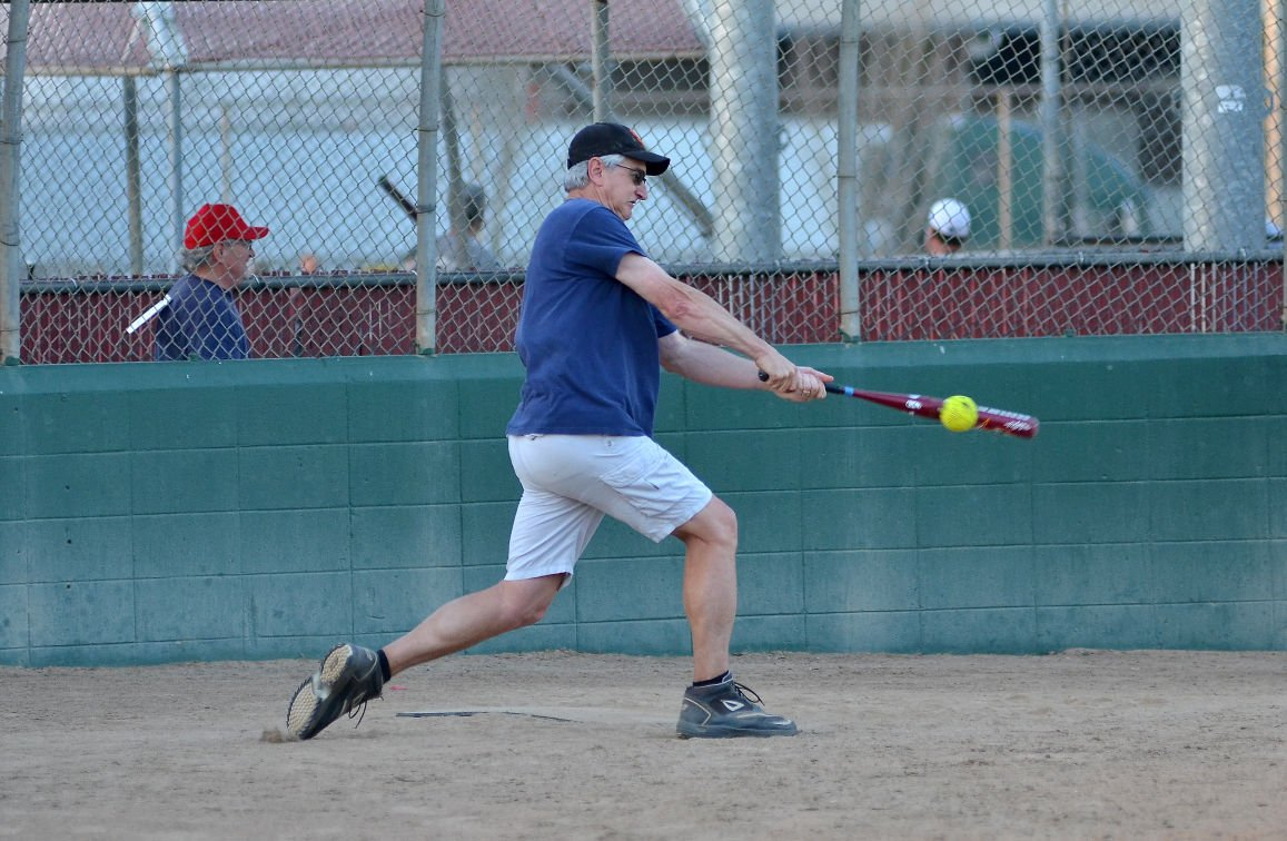 Softball     with a touch of silver | Life & Leisure