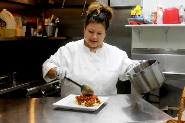 Local caterer Sandra Nauer cooks from the heart