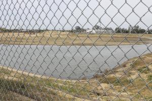 Storm drainage turns Pixley Park site into Lodi's newest lake