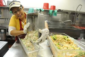 Nancy Rostomily brings  a chef's touch to school cafeterias in Lodi Unified School District