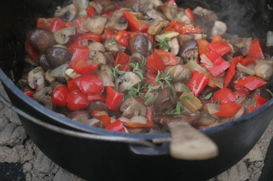 Locals celebrate a traditional style of cooking at their neighborhood Dutch oven cookoff